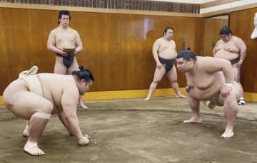 大関正代、春場所へ好感触 稽古で相撲、狙う2度目のV 画像1