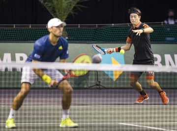 錦織・マクラクラン組1回戦敗退 ABN・AMROテニス 画像1