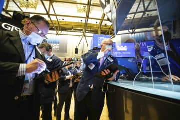 NY株反落、143ドル安 利益確定売りが優勢 画像1