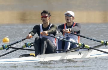 ボート、西村・古田組がリード クルー決定レース第2日 画像1