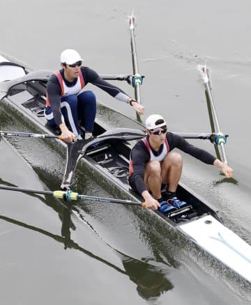 ボート、西村と古田が五輪予選へ クルー決定レース最終日 画像1