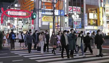 6日の人出、増加4分の3超 前週比、全国主要駅や繁華街 画像1