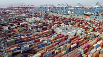中国の輸出、1~2月は60%増 コロナ停滞から貿易回復裏付け 画像1