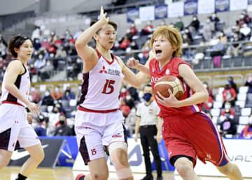 富士通とデンソー、準決勝へ バスケ女子Wリーグ、プレーオフ 画像1