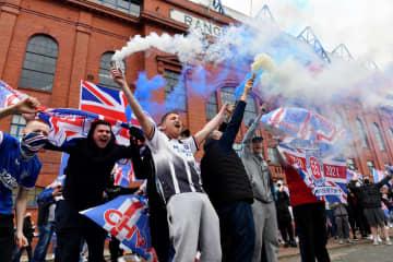 レンジャーズが10季ぶりV スコットランド・プレミアリーグ 画像1