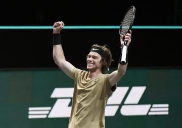 男子テニス、ルブレフが8勝目 ABN・AMROワールド 画像1