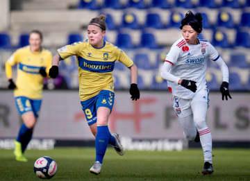 リヨン熊谷紗希は後半途中出場 サッカー女子、欧州CL 画像1