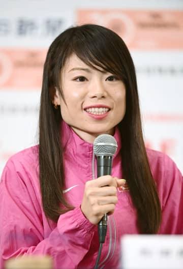 名古屋マラソン招待選手が会見 五輪補欠の松田、悔しさ晴らす 画像1