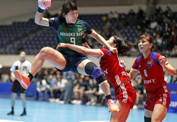 ハンド女子、北国銀行が7連覇 日本リーグ、男子は豊田合成初V 画像1