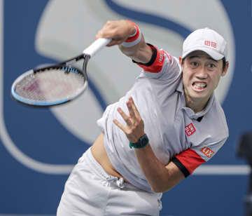 テニスの錦織、逆転で2回戦進出 ドバイ選手権、西岡は敗れる 画像1
