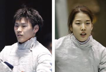 吉田健人、江村美咲が初の五輪に フェンシング・サーブル 画像1