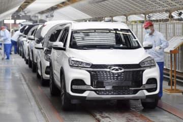中国の1~2月工業生産35%増 コロナから回復鮮明 画像1
