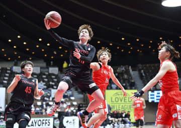 バスケ決勝はトヨタ―ENEOS Wリーグ準決勝第2戦 画像1