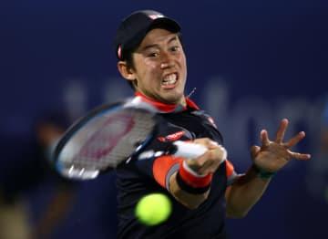 錦織圭、ゴファン下して16強 男子テニスのドバイ選手権 画像1