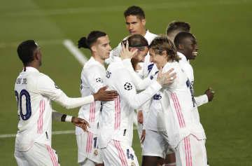 レアル、マンCが8強入り サッカー、欧州CL 画像1