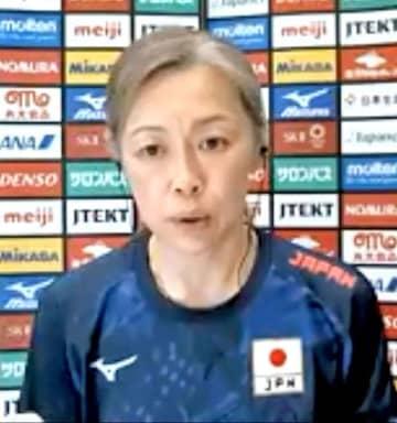 バレー、中田監督「限界突破を」 合宿中の女子代表 画像1