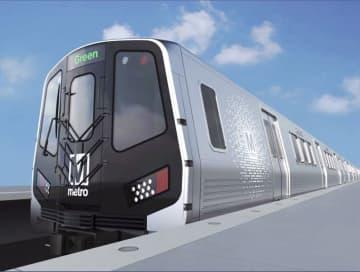 日立、米国の地下鉄車両を受注 800両、約2398億円 画像1