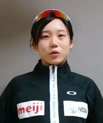 高木美帆「全部ぶつけたい」 北京五輪へ、多種目で期待 画像1