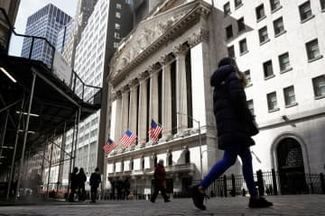 NY株続落、234ドル安 銀行規制緩和終了を嫌気 画像1