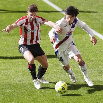 サッカー、乾は後半途中から出場 スペイン1部リーグ 画像1