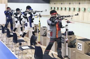 岡田直也、2大会連続五輪代表に ライフル射撃、最終選考会 画像1