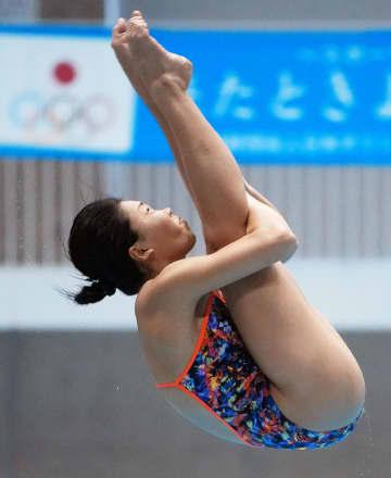 女子板飛び込みは榎本1位 ユニバ代表選考会 画像1