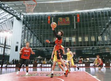 バスケ男子はBEEFMAN優勝 3人制の日本選手権 画像1