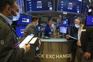 NY株反落、308ドル安 新型コロナ懸念が再燃 画像1