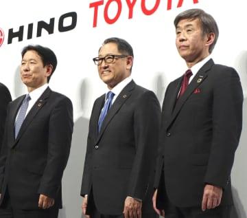 トヨタといすゞ、再び資本提携 日野含め商用車国内シェア8割 画像1