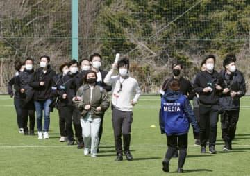 東京五輪聖火、コロナ禍でつなぐ 25日、福島から出発 画像1