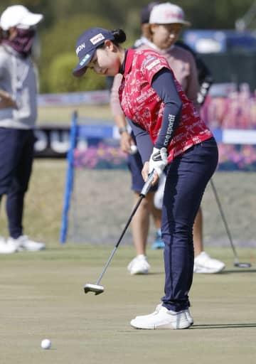 小祝さくらが調整、攻略法は頭に 26日からアクサ女子ゴルフ 画像1
