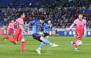 日本、韓国に3―0で快勝 1年4カ月ぶり国内代表戦で白星 画像1