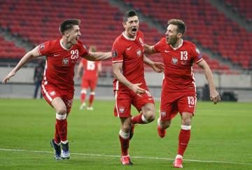 ポーランドは引き分け サッカーW杯欧州予選 画像1