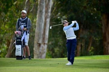 米女子ゴルフ、上原が29位 畑岡は134位、起亜クラシック 画像1
