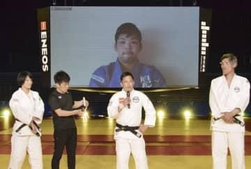 野村さん、大野らが柔道教室 篠原氏は古賀さんを悼む 画像1