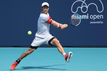 テニス、錦織が3回戦進出 マイアミOP 画像1