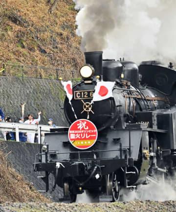 聖火リレーが栃木でスタート 最古の学校、SLや舟も 画像1