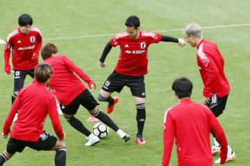 日本代表、30日モンゴル戦 サッカーW杯予選へ調整 画像1