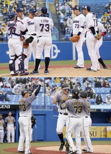 野村克也さんしのび、全員73番 ヤクルト―阪神で追悼試合 画像1