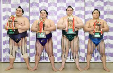 照ノ富士が殊勲、若隆景に技能 碧山と明生が敢闘賞 画像1