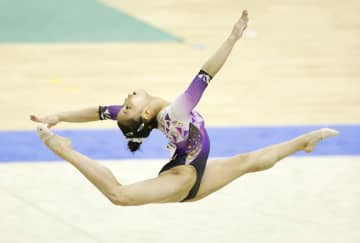 女子は畠田千愛が3冠 体操の全国高校選抜 画像1