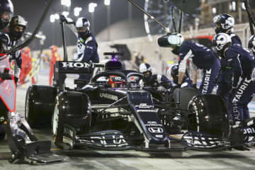F1デビューの角田が9位入賞 開幕戦バーレーンGP 画像1