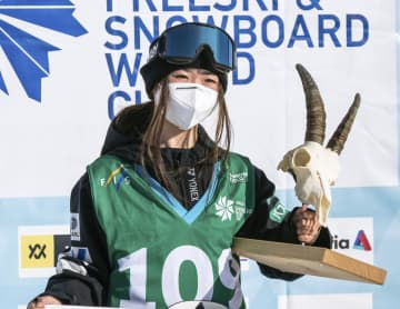 スノボW杯、岩渕が今季初勝利 村瀬は2位 画像1
