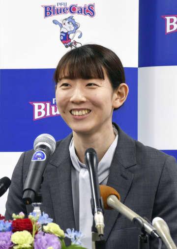 江畑幸子「幸せなバレー人生」 ロンドン五輪「銅」引退会見 画像1