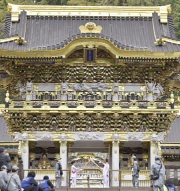 トーチ、世界遺産の社寺巡る 栃木2日目、日光東照宮など 画像1