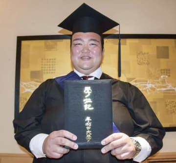 大相撲の荒磯親方に学位記授与 早大大学院、論文は最優秀 画像1