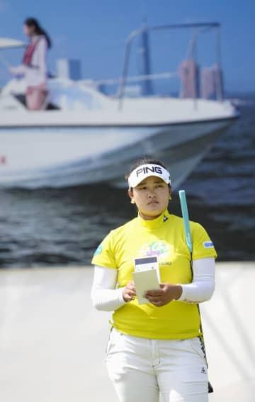 鈴木愛「先に日本で勝利を」 ヤマハ女子ゴルフ最終調整 画像1