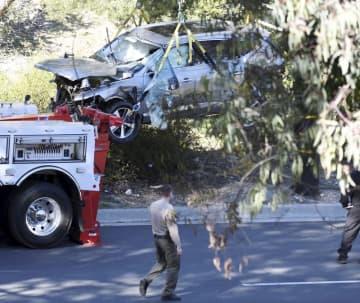 ウッズの車事故原因特定も非公表 保安官「プライバシーの問題」 画像1