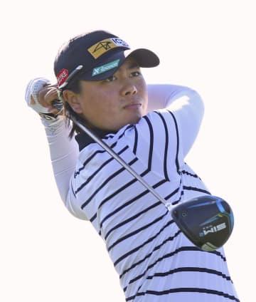 笹生3打差8位、渋野49位 ANA女子ゴルフ第1日 画像1