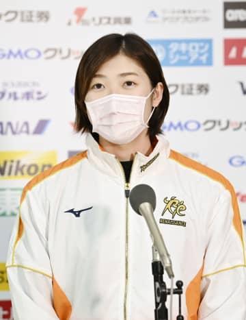競泳の池江「全力で楽しむ」 3日に日本選手権開幕 画像1
